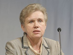 The chairman of the Central selective commission of Belarus Lydia Yermoshin