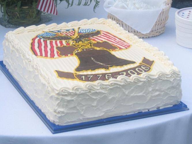 Праздничный торт 2006 год Посольство США