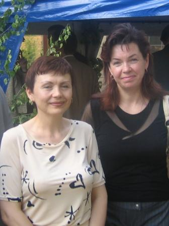 Kozulina Irina and Marina Levonevsky, wives of political prisoners of Belarus