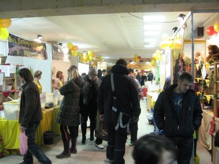 Продажа меда в г.Гродно (фото на levonevsky.org)
