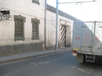 Тюрьма №1 г.Гродно. Въезд для транспорта с заключенными