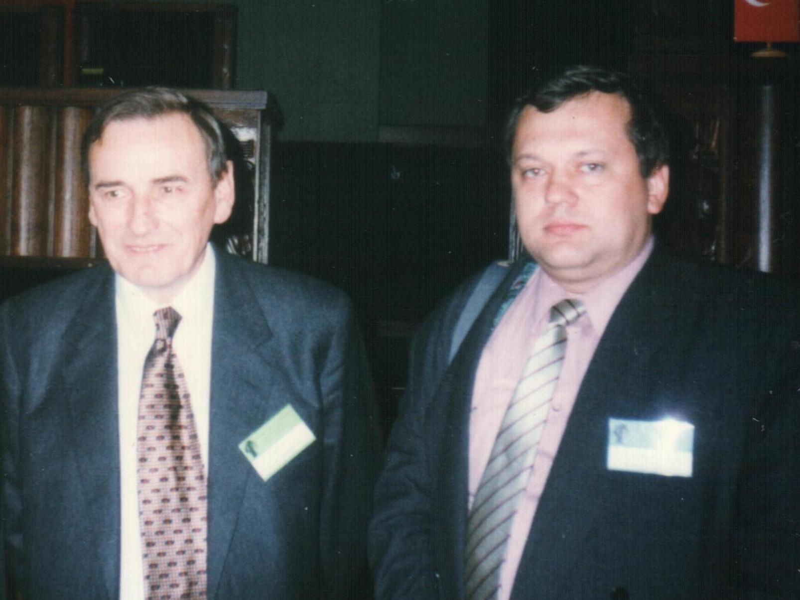 Збигнев Ромашевский и Валерий Левоневский, фотография из архива