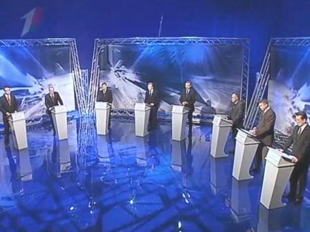 Теледебаты 4 декабря 2010 год, выборы президента