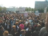Strajk białoruskich kupców